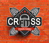 Crossfit emblem, symbol.