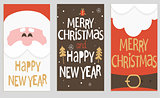Santa's message banners.