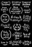 Christmas and New Year, vector set