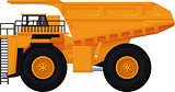 dump truck cartoon for you design