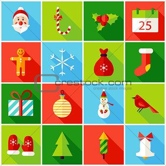Christmas Colorful Icons