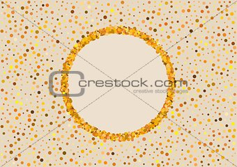background with color dots