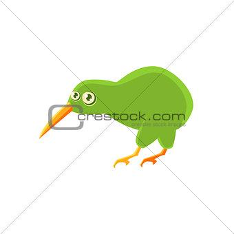Kiwi Bird Toy Exotic Animal Drawing