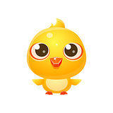 Chicken Baby Animal In Girly Sweet Style