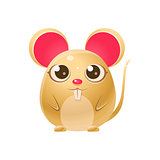 Mouse Baby Animal In Girly Sweet Style
