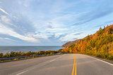 Cabot Trail Highway  (Cape Breton, Nova Scotia, Canada)