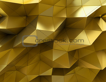 Beautiful gold abstract background