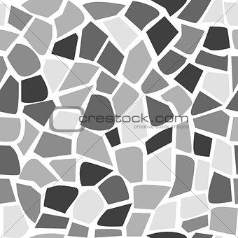 Abstract mosaic pattern seamless stone pattern
