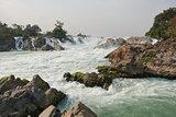 Khone Phapheng Waterfalls, Laos, Asia