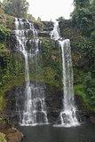 Tad Gneuang Waterfall, Laos, Asia