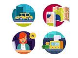 Service taxi concept