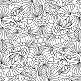 abstract hand drawn pattern