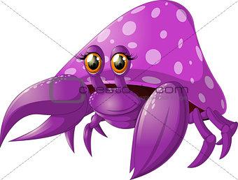 bright crab pokemon