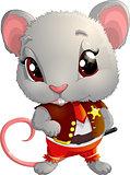 Rat sheriff character