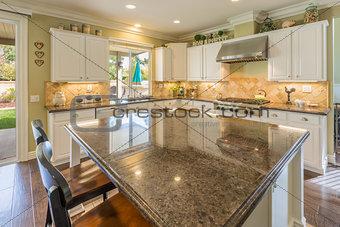 Beautiful Custom Kitchen Interior