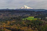 Mount Hood over Barlow Trail Route