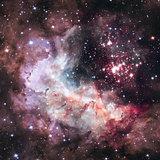 Super star cluster Westerlund 2 in the constellation Carina.