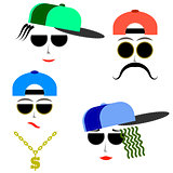 Hip Hop Boys Faces