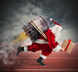 Race to the delivery of Christmas gifts
