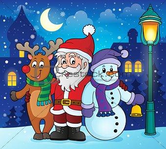 Christmas characters theme image 2