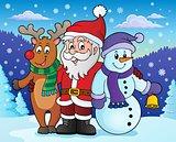 Christmas characters theme image 4
