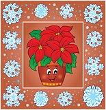 Christmas composition greeting card 5