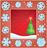 Christmas subject greeting card 2