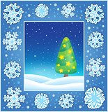 Christmas subject greeting card 3