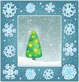 Christmas subject greeting card 4