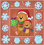 Christmas thematics greeting card 2