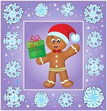 Christmas thematics greeting card 3