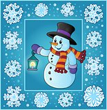 Christmas thematics greeting card 5