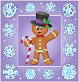 Christmas thematics greeting card 6