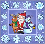 Christmas thematics greeting card 8