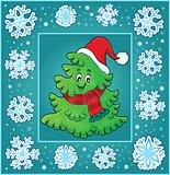 Christmas topic greeting card 7