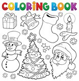 Coloring book Christmas thematics 5