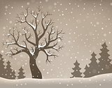 Winter tree topic image 2