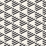 Vector Seamless Black and White Triangle Checker Grid Diagonal Parallel Lines Pattern