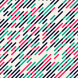 Vector Seamless Parallel Diagonal Red Green Overlapping Color Lines Pattern