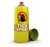 tick spray bottle