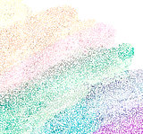 Vector Colorful explosion of confetti.