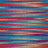 Seamless Knitted Melange Pattern.