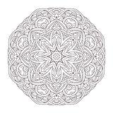 Mandala. Vintage decorative illustration