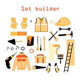 Collection elements for building and repair