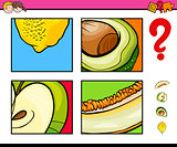 educational activity with fruits