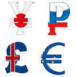 National symbols of the money