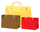 Three bags colour