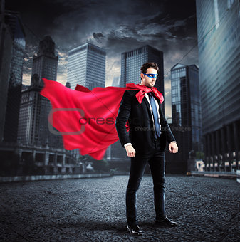 City superhero