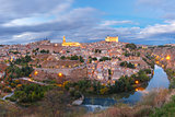 Panorama of Toledo, Castilla La Mancha, Spain
