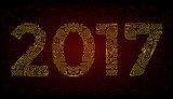 year Mono line elegant design elements symbols. Frame. Vector illustration